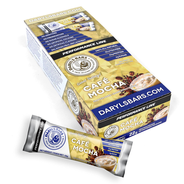 Café Mocha Protein Bars