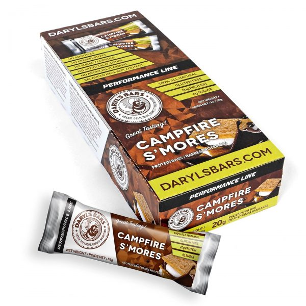 Campfire S'mores Protein Bars
