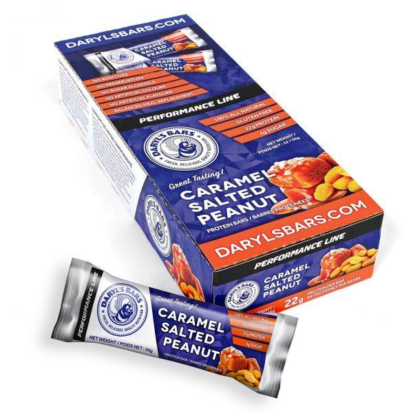 Caramel Salted Peanut Protein Bars