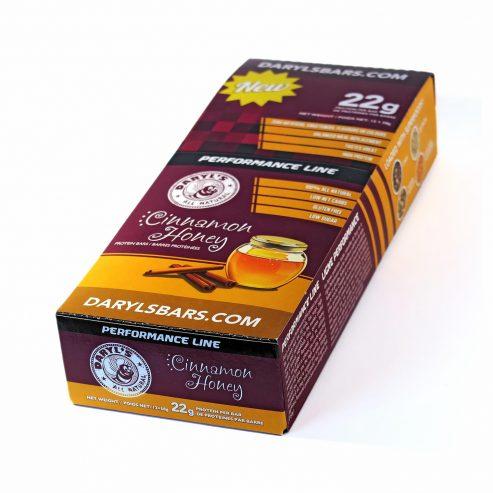 Cinnamon Honey Protein Bars