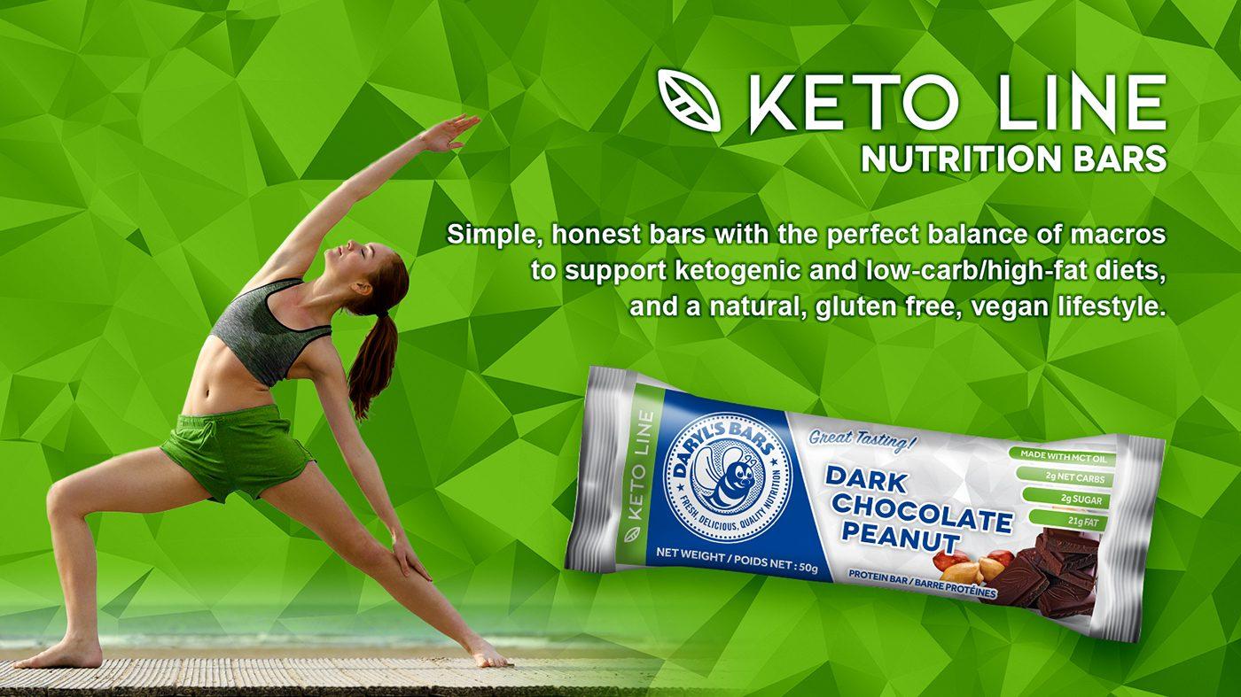Keto Line Nutrition Bars