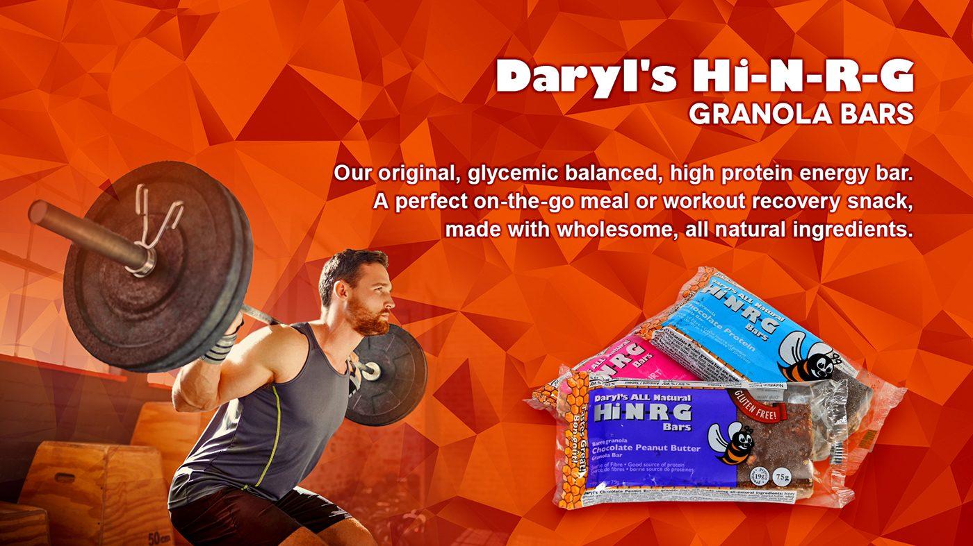 Hi-N-R-G Granola Bars