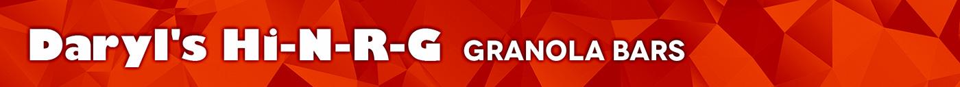Daryl's Hi-N-R-G Granola Bars